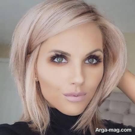فرمولی از رنگ مو ترکیبی زیبا