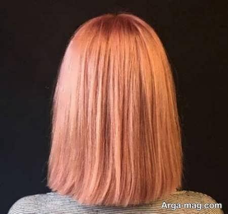 فرمول رنگ مو ترکیبی زیبا