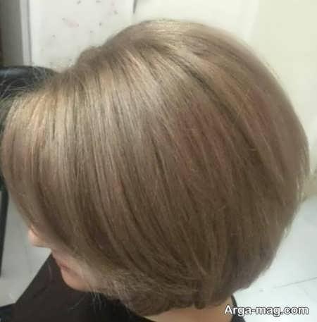 رنگ مو ترکیبی زیبای زنانه