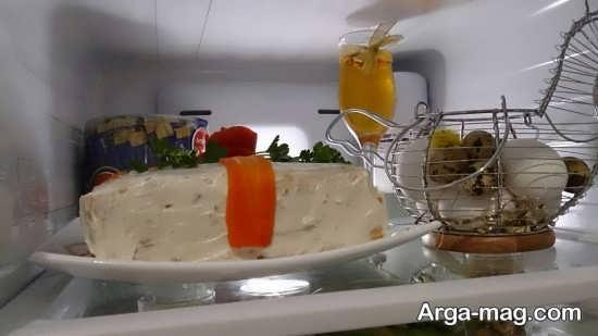تزیین یخچال جهیزیه عروس با روش های جالب