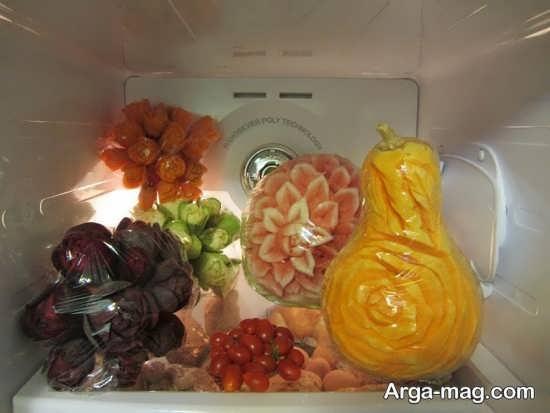 تزیین میوه با کمک ایده های خلاقانه برای یخچال
