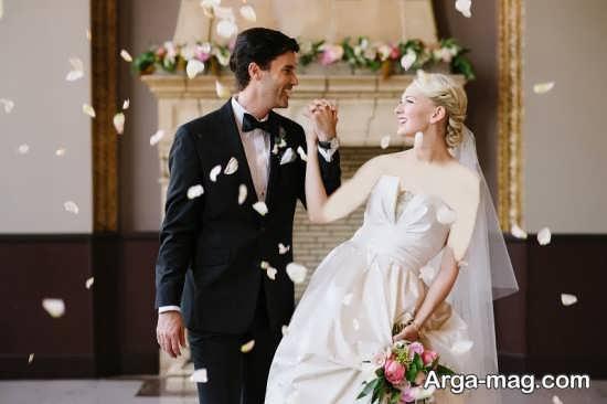 عکس های زیبای عروس و داماد