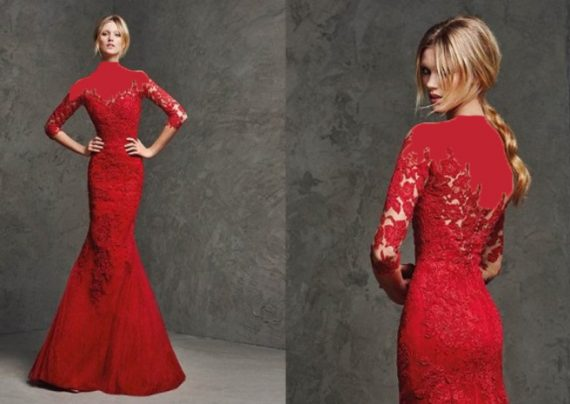 مدل لباس حنابندان عروس قرمز