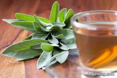 پایین آوردن حرارت تب با چای گیاهی