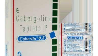علت مصرف قرص کابرلین