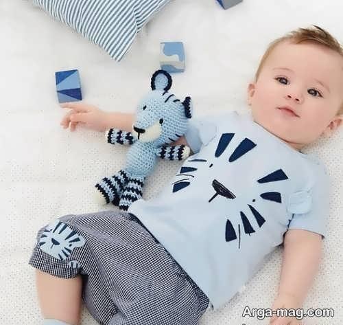 مدل لباس راحتی بچگانه برای پسر