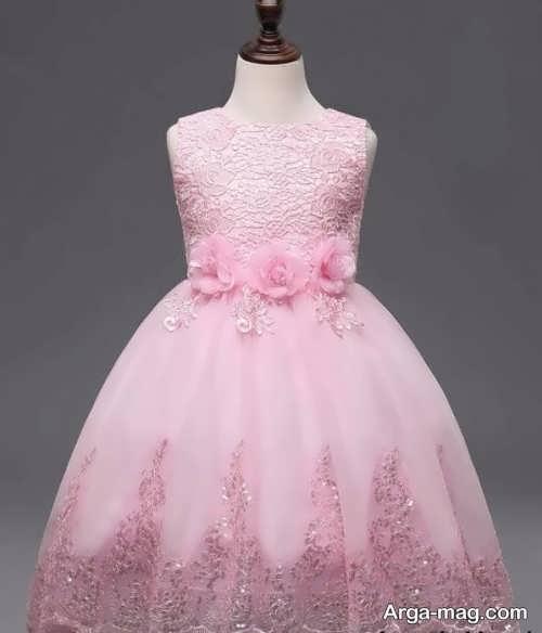 مدل لباس حریر بچه گانه زیبا