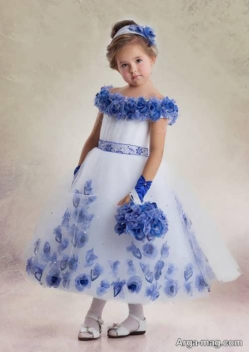 جدیدترین مدل لباس حریر بچگانه