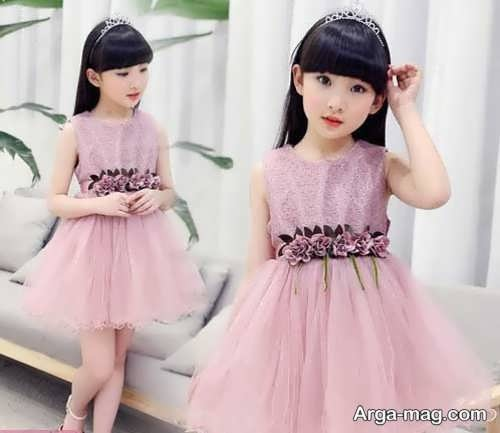مدلهای لباس حریر بچگانه