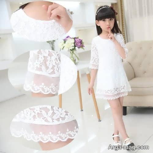 مدل لباس حریر بچگانه زیبا