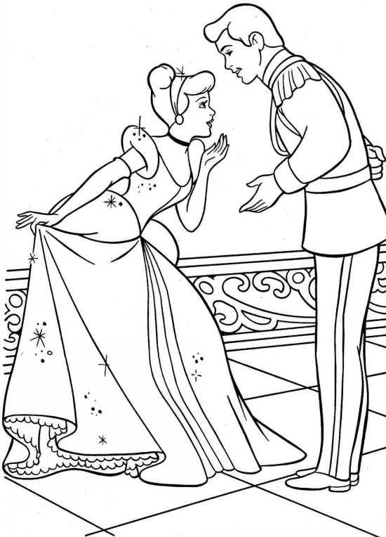 نقاشی فانتزی سیندرلا