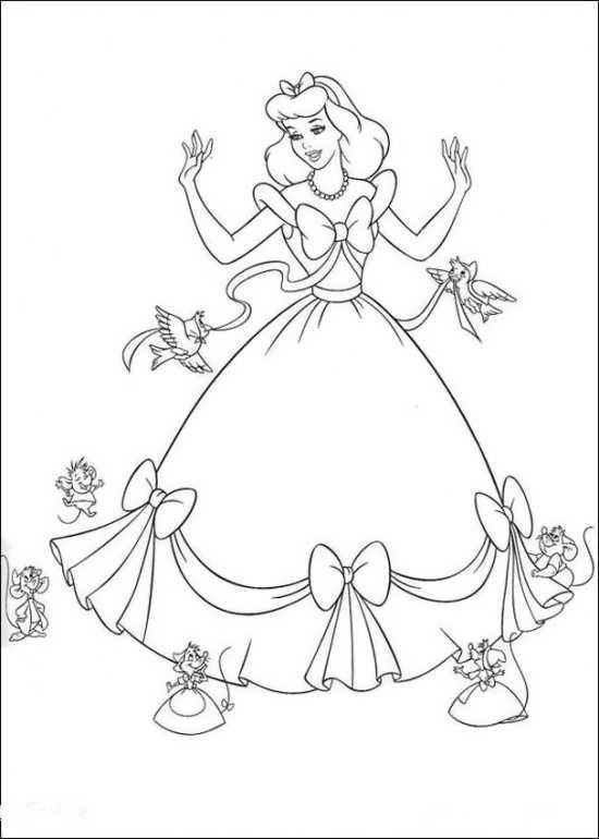 نقاشی جالب و جذاب سیندرلا