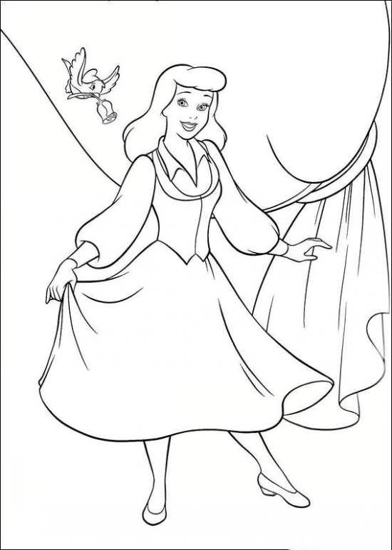 نقاشی جذاب سیندرلا