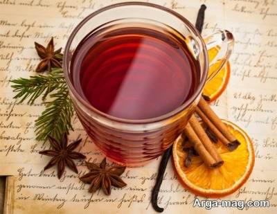 درست کردن چای دارچین
