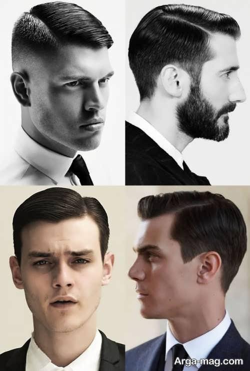 مدل موی مردانه کوتاه و کلاسیک