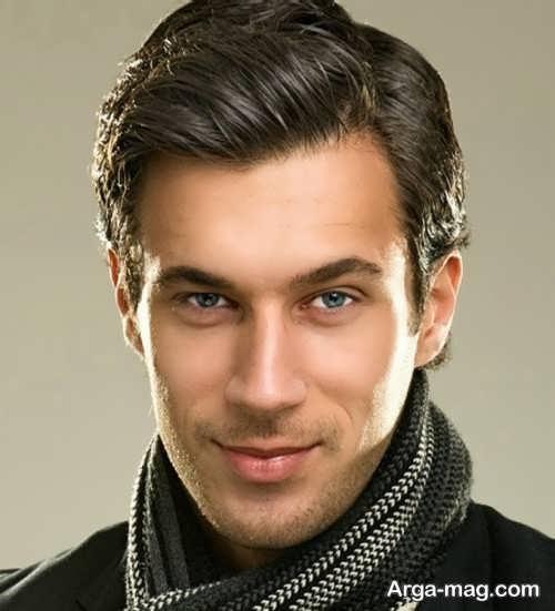 مدل موی مردانه کلاسیک بلند و جذاب