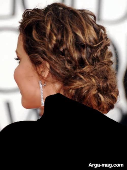 مدل موی فر بسته زیبا و زنانه