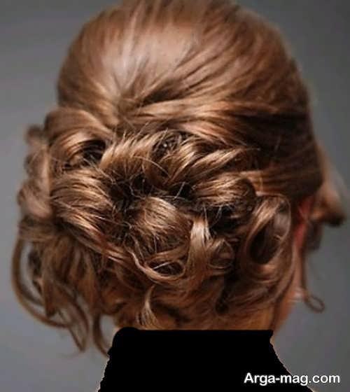 مدل موی فر بسته و جذاب