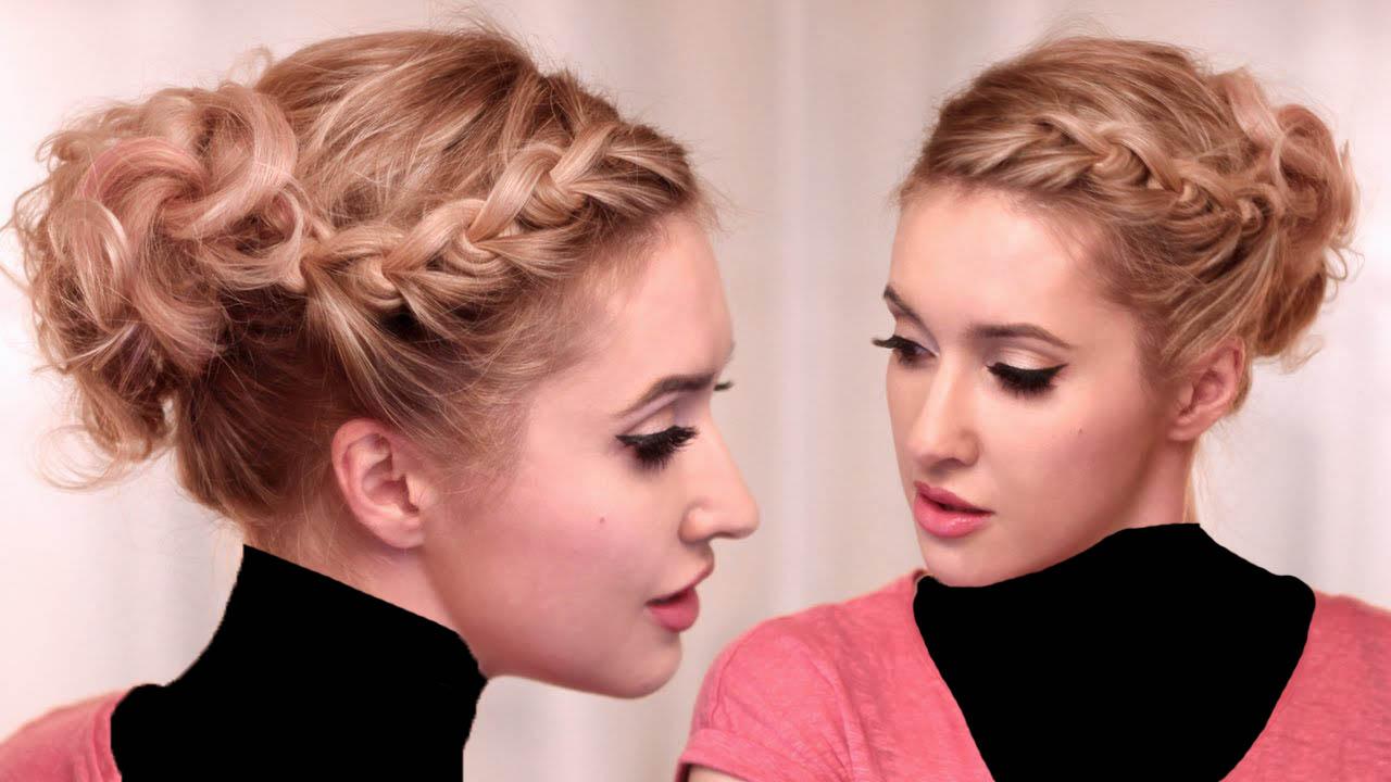Красивые прически колоски на короткие волосы