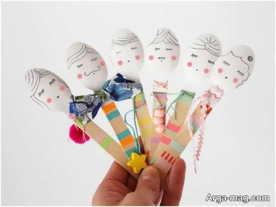 کاردستی خلاقانه و جدید برای کودکان