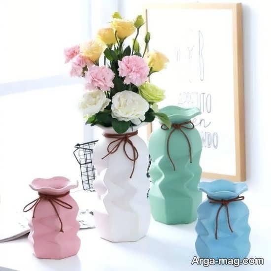 گلدان رومیزی فانتزی شیک