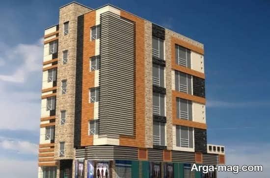 جدیدترین نمای ساختمان 4 طبقه