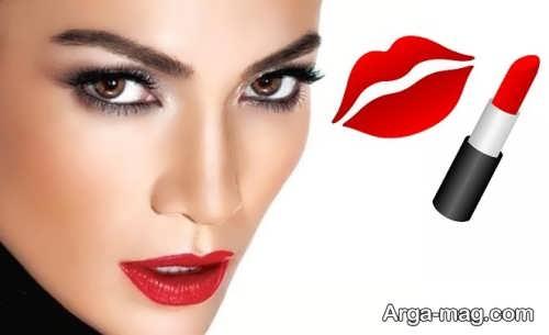 مدل آرایش صورت حرفه ای