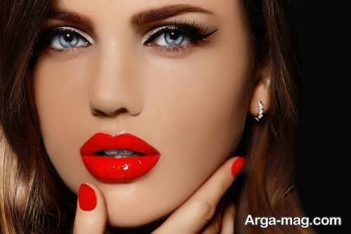 مدل گریم صورت حرفه ای زیبا و جذاب
