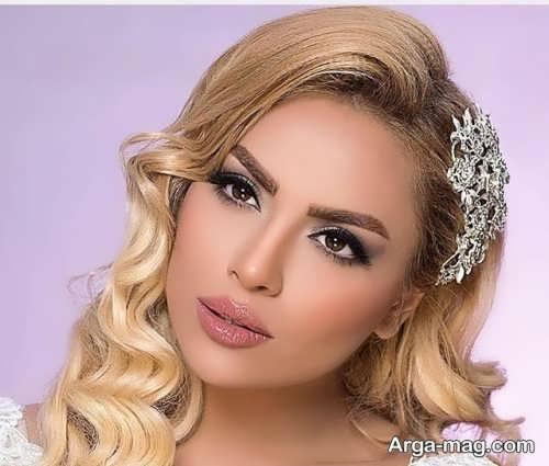 مدل زیبای آرایش صورت