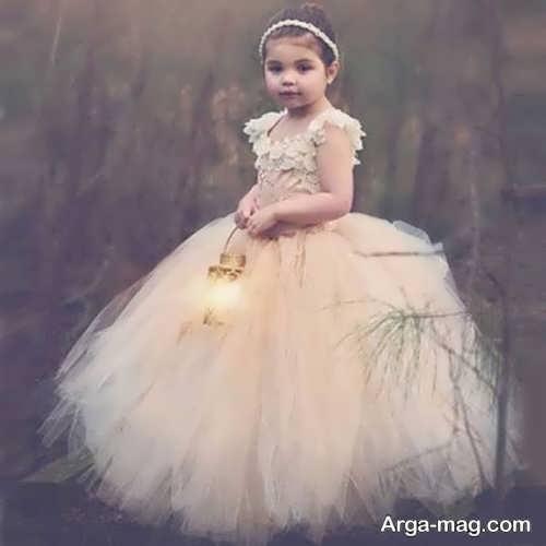 لباس عروس دخترانه پرنسسی خاص
