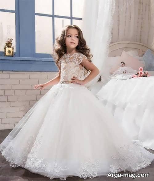 لباس عروس پرنسسی شیک برای دختران