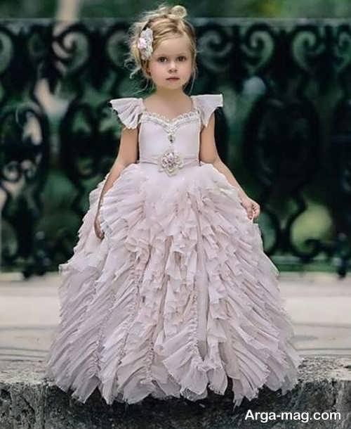 لباس عروس پرنسسی دیدنی برای دختران