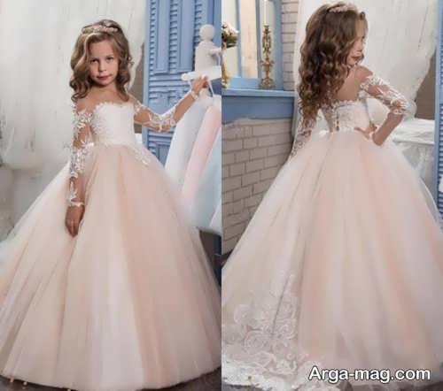 لباس عروس پرنسسی فوق العاده برای دختران