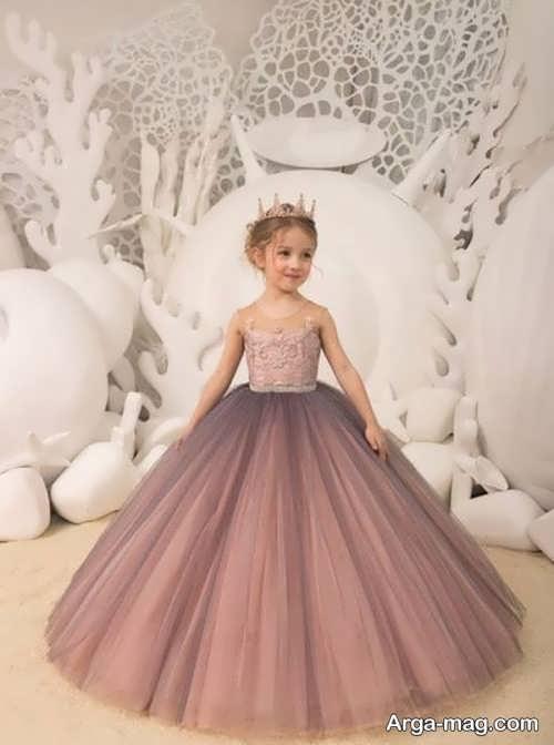 لباس عروس پرنسسی متنوع برای دختران