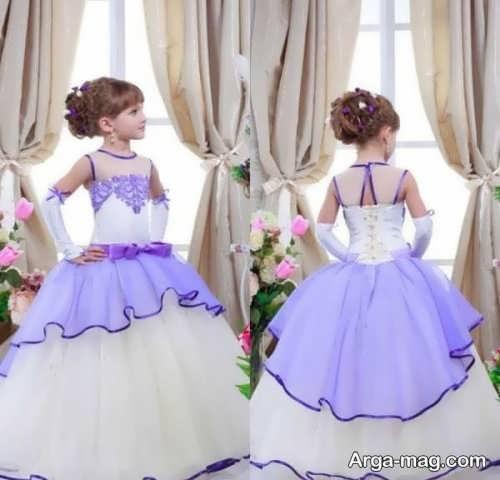 لباس عروس دخترانه پرنسسی قشنگ
