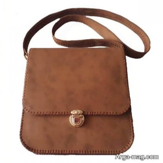 مدل جدید کیف دخترانه قهوه ای رنگ