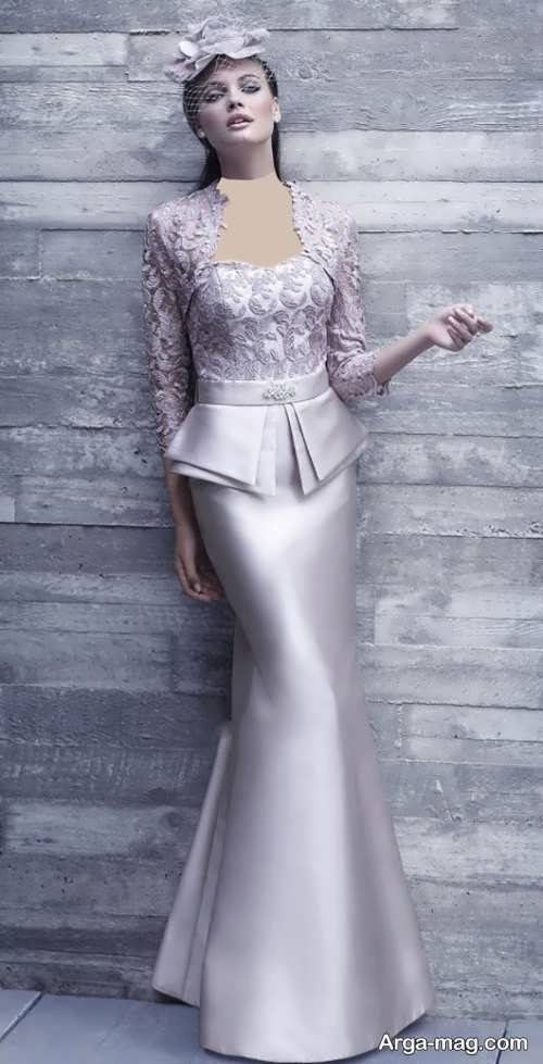 مدل کت و دامن بلند گیپور