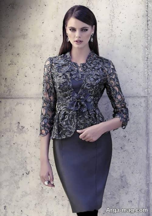 مدل کت و دامن زیبا و جذاب