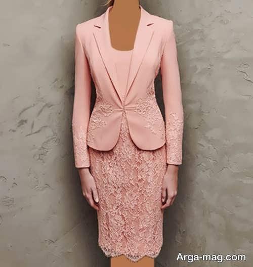 مدل کت و دامن زنانه گیپور