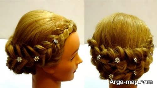 مدل موی بسته برای مهمانی