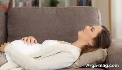 بررسی علت های دل درد در بارداری