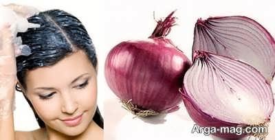 پیاز درمان کننده ریزش موی سر