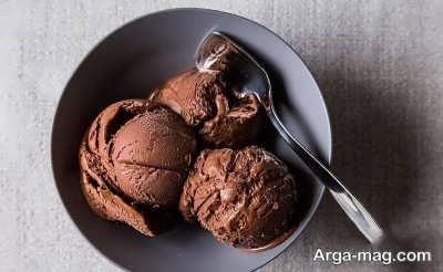 نحوه تهیه بستنی کاکائویی