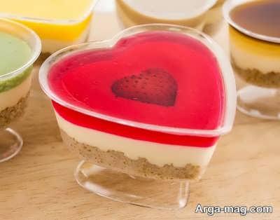 چیز کیک توت فرنگی دسری خوشمزه
