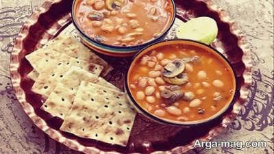 دستور تهیه خوراک لوبیا چیتی