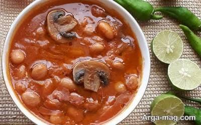 روش تهیه خوراک لوبیا چیتی