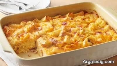 طرز تهیه سوفله سیب زمینی و مرغ