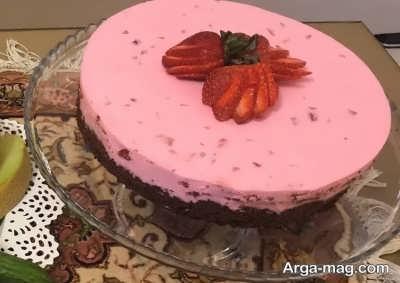 How to روش تهیه چیز کیک توت فرنگی