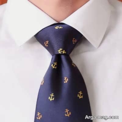 مدل بستن شیک کراوات