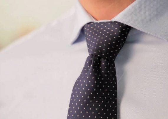 طریقه بستن کراوات با 4 گره مختلف